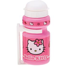 Bike Fashion Hello Kitty Bidón 300ml con portabidón Niñas, pink